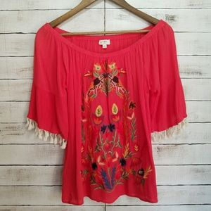 umgee Embroider top